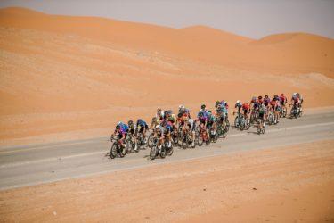 【ツアー・オブ・サウジアラビア/第1ステージ】横風に見舞われた砂漠を貫く大会初日