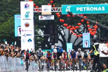 🥈【ツール・ド・ランカウイ/第3ステージ】チームワークが実り、ミナーリが区間2位表彰台!